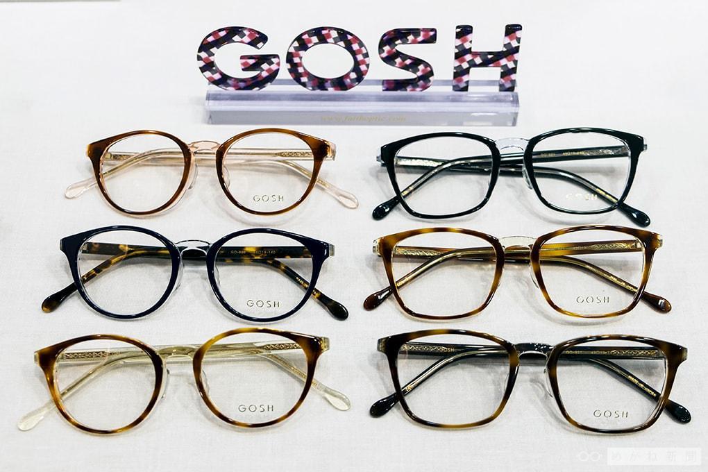 めがね新商品情報「GOSH(ゴッシュ)」の新作フレーム
