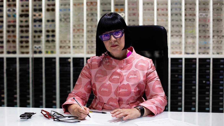 【伊藤美玲のめがねコラム】第47回「CUTLER AND GROSSデザイナー Marie Wilkinsonさんインタビュー」
