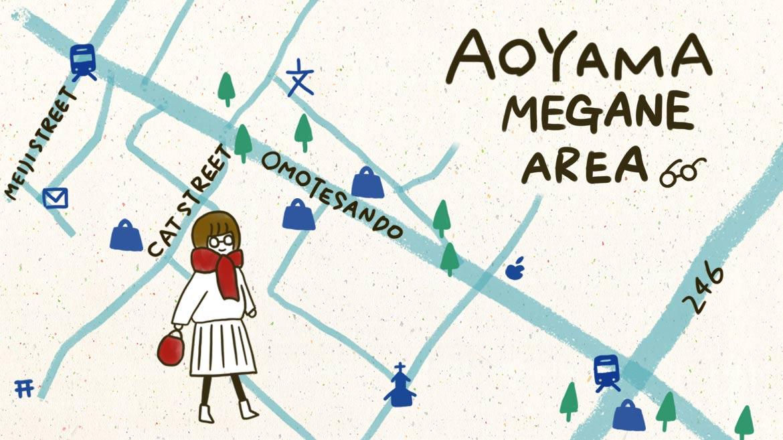 【青山にめがねエリア!?】ここは東京の鯖江か?青山に新スポット「めがねエリア」登場!【勝手に認定】