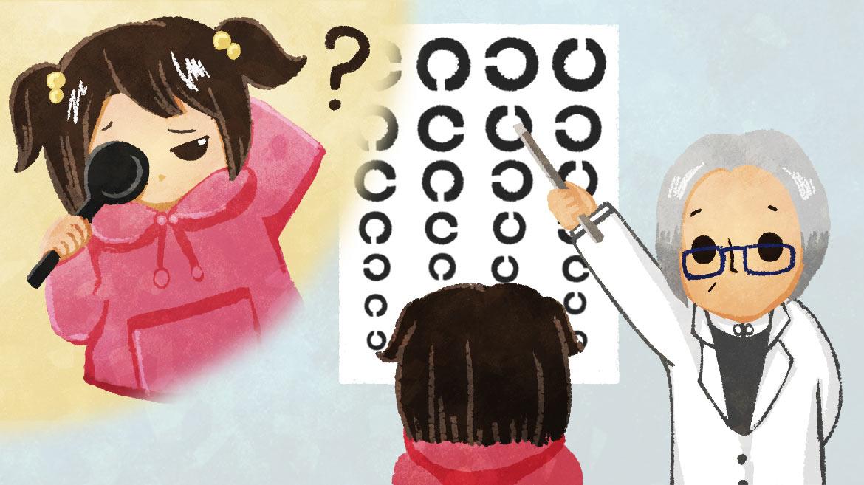 小学生・高校生の視力が過去最低に!?どのくらい下がっているの?