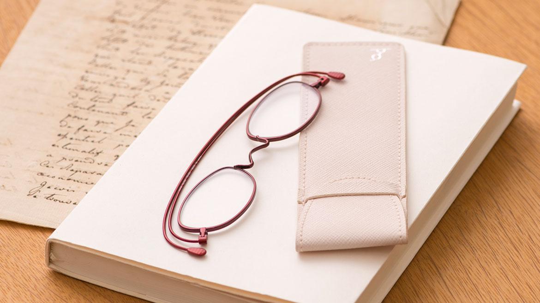 【超薄&軽&おしゃれ!な老眼鏡】「ペーパーグラス」でストレスフリーな老眼ライフ