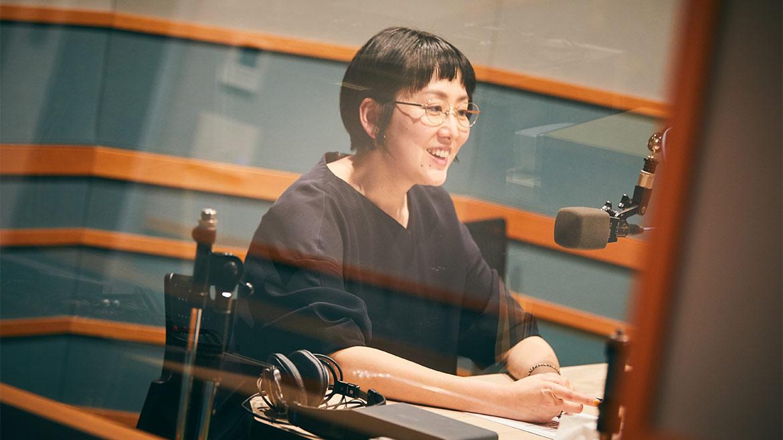 【潜入レポ!】眼鏡ライター・伊藤美玲さん『あさナビ』ラジオ出演!